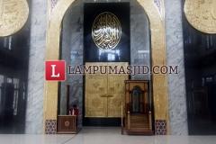 Ornament masjid kuningan