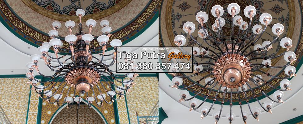 lampu gantung masjid jakarta jual