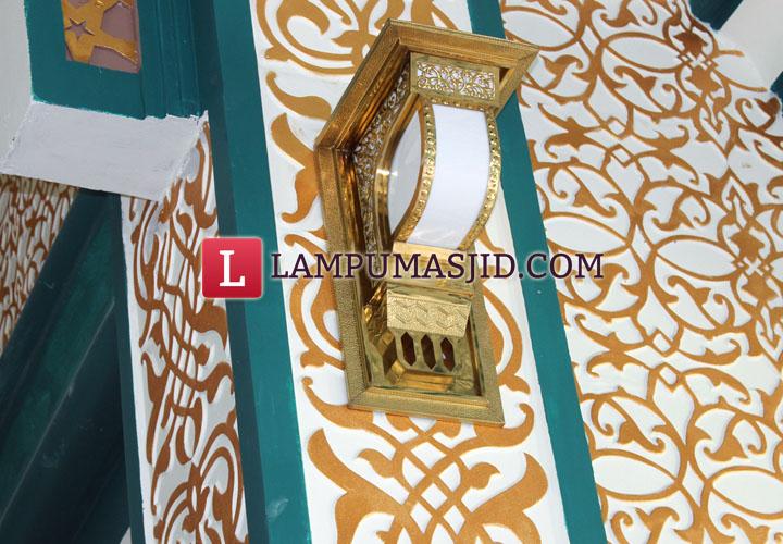 lampu tiang masjid