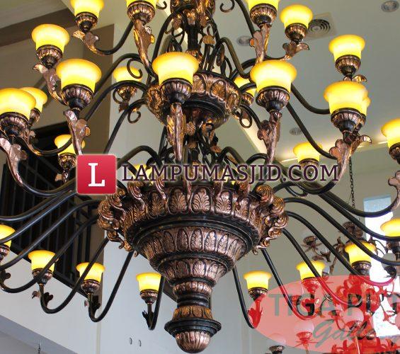 Lampu masjid kubah 3 meter
