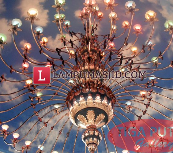 lampu gantung masjid 5 meter
